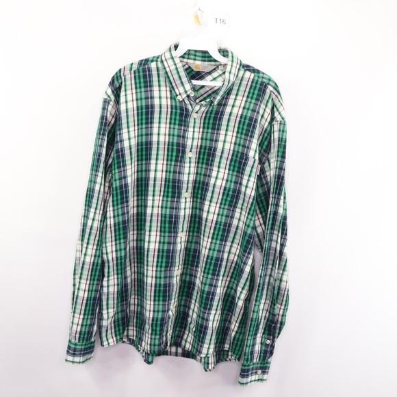 Carhartt Other - 90s Carhartt Mens XL Spell Out Plaid Flannel Shirt